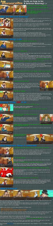 Defense guide 1-3
