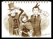 Ending - Vera Sketch