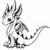 Confetti dragon
