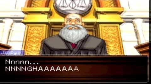 Phoenix Wright Ace Attorney - Breakdown del Juez -Judge's Breakdown-