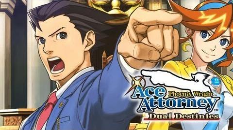 Phoenix Wright Ace Attorney - Dual Destinies Trailer