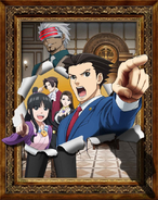 Ace Attorney Anime - Season 2 Key Visual