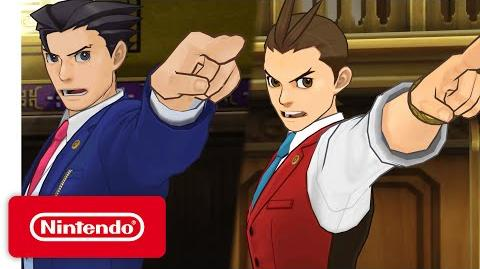 Phoenix Wright Ace Attorney - Spirit of Justice Launch Trailer