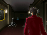 Edgeworth spots the Proto Badger