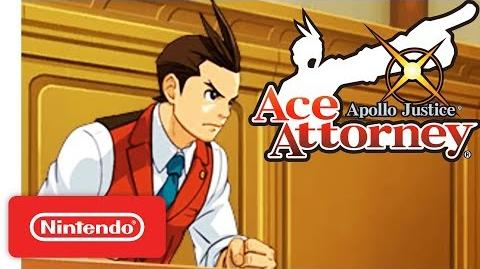 Apollo Justice Ace Attorney Launch Trailer - Nintendo 3DS