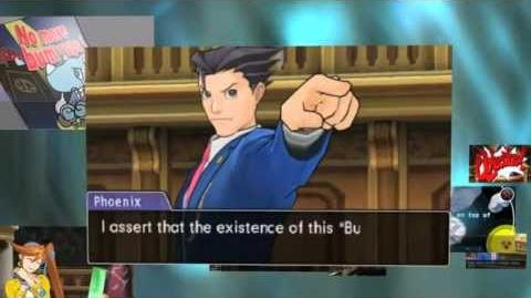 Phoenix Wright - Dual Destinies Announcement trailer