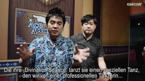 Phoenix Wright Ace Attorney Spirit of Justice Interview deutsch Nintendo 3DS