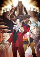 Gyakuten Kenji Illustration Main Cast