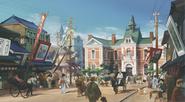 Meiji period Carneval