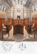 Courtroom concept art
