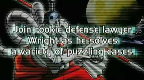 Phoenix Wright Ace Attorney Trailer E3 2005 DS