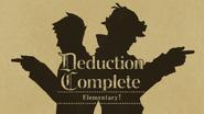 Deduction Complete