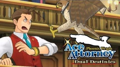 Phoenix Wright Ace Attorney - Dual Destinies - Blackquill gameplay