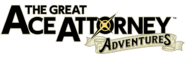 The Great Ace Attorney 1 logo English
