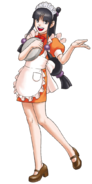 Waitress Maya
