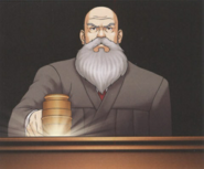 Judge and his gavel