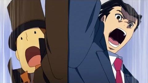El profesor Layton vs Phoenix Wright Ace Attorney - Trailer Español