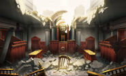Bombed Courtroom