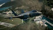 AC7 F-35C City Flyby