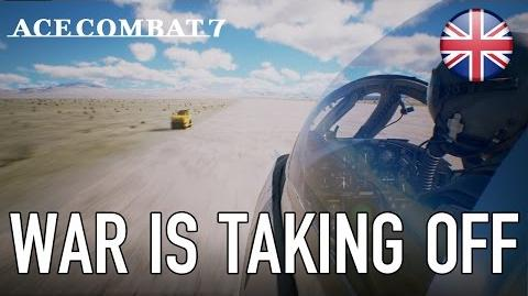 Ace Combat 7 - PS4 - War is taking off (English) (PSX 2016)