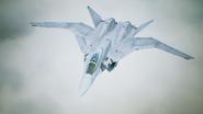X-02S Strike Wyvern Flyby No Emblem