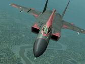 Schwarze Team MiG-31