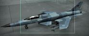 X-29A Osea color Hangar