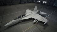 FA-18F AC7 Color 6 Hangar
