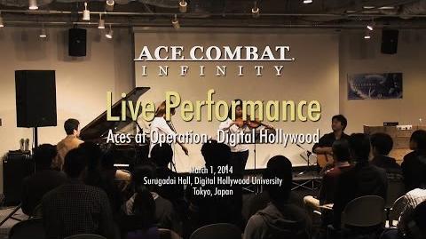 ACE COMBAT INFINITY Live Performance