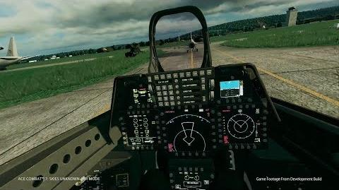 Ace Combat 7 - Tokyo Game Show VR Mission Gameplay