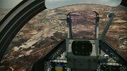 MIR-2000-5 cockpit view