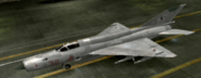 MiG-21bis Standard color hangar
