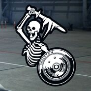 Skeleton (Low-Vis) Emblem Hangar