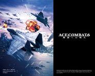 Ace Combat 6 Logo Wallpaper B 1280x1024