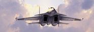 Su-37SFlanker Sunset Closeup
