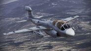 EA-6B Prowler over Stonehenge
