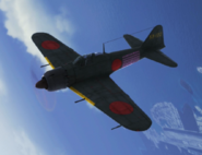 A6M5 Event Skin -01 Flyby