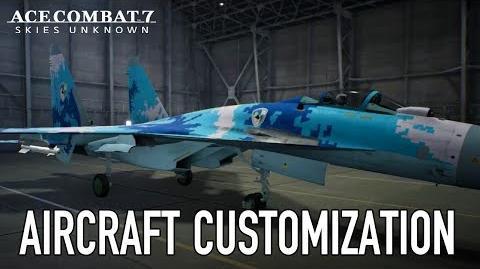 Ace Combat 7 Skies Unknown - Aircraft Customization