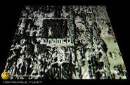 Namco Logo in Invincible Fleet