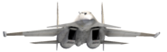 Su-37 Super Flanker Render 2 Alternative Version(AC3 PAL Press Kit)