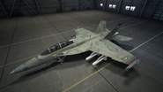 FA18F AC7 Grun Hangar