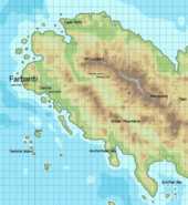 Erusea Topographical Map AC7