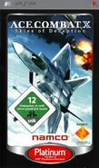 Ace Combat X Box Art Germany