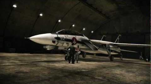 ACE COMBAT ASSAULT HORIZON F-14D MACROSS VF-1S