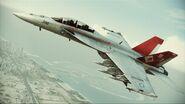 FA-18F Red Devils