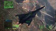 Ace Combat 6 ACE Hunt OBLAKO (Ragno Fortress)