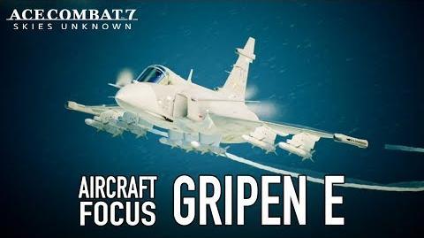 Ace Combat 7 Skies Unknown - PS4 XB1 PC - Gripen E Aircraft Focus