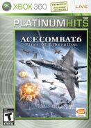 Ace Combat 6 Platinum Box Art North America