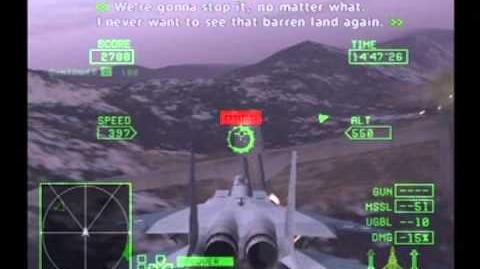 Ace Combat Zero The Belkan War Mission 17 - Valley Of Kings Soldier F-15C