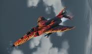 "F-4E ""Inferno"" Skin Flyby"